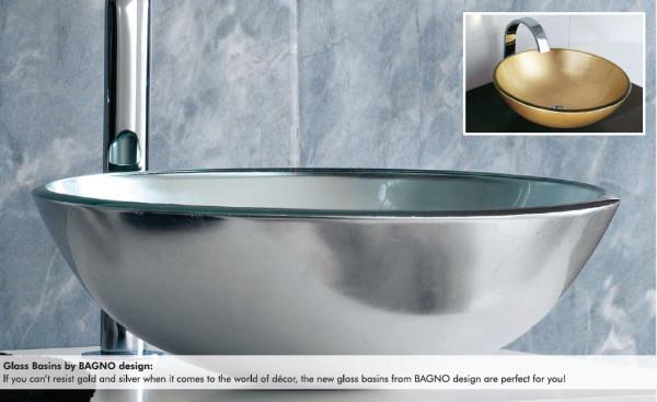 Bagno Design Sink : Glass sinks bagno design