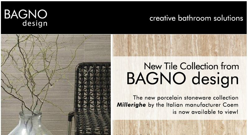 BAGNO design Introduces New Tile Collection | BAGNODESIGN