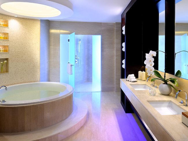 Luxury bathroom design on a record breaking level for Bathroom designs dubai