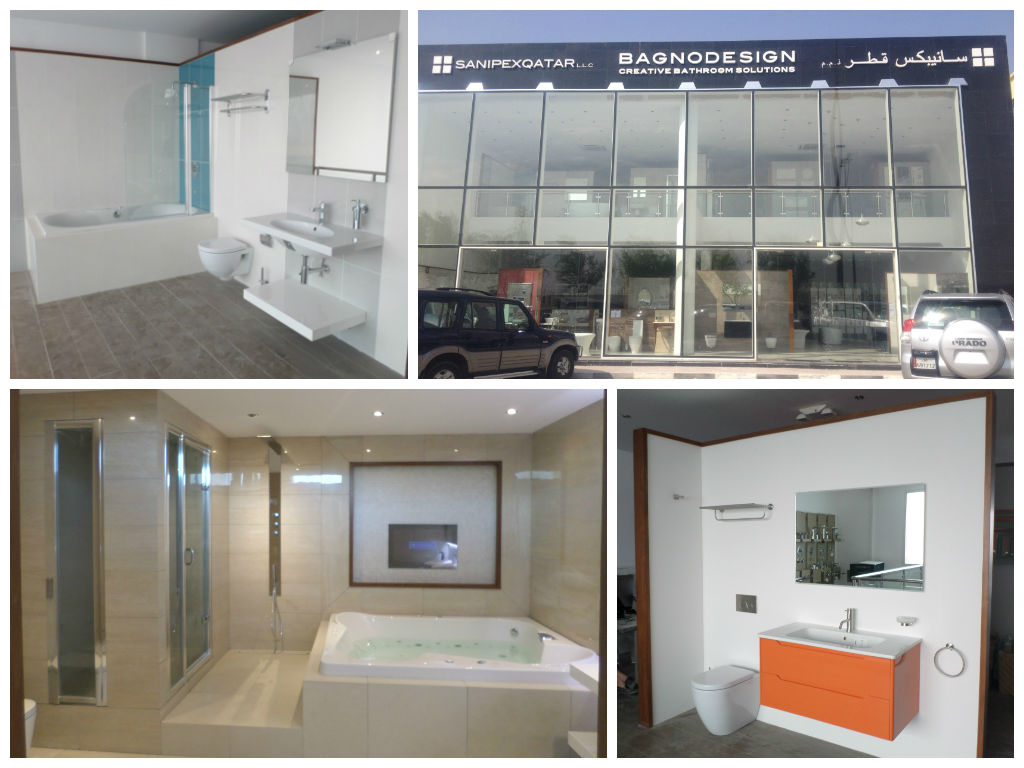 Bagnodesign unveils luxury showroom in qatar offering the
